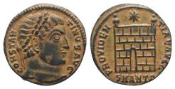 Ancient Coins - Constantine I (307/310-337). Æ Follis. Antioch, 326-7. EXTREMELY FINE