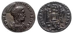 Ancient Coins - Constantine I (307/310-337). Æ Follis - Ludgunum