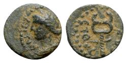 Ancient Coins - Seleucis and Pieria, Antioch. Civic coinage. Æ - Apollo / Caduceus