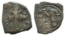 Ancient Coins - Constans II (641-668). Æ 40 Nummi. Constantinople