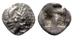 Ancient Coins - Ionia, Kolophon, late 6th century BC. AR Tetartemorion
