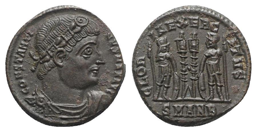 Ancient Coins - Constantine I (307/310-337). Æ Follis. Antioch, c. 333-5. Extremely Fine
