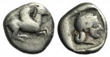 CORINTHIA, Corinth. Circa 500-450 BC. AR Drachm