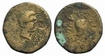 Ancient Coins - BITHYNIA. Apamea. Augustus (27 BC-14 AD). AE 21mm. Struck in the name of Marcus Agrippa (64/3-12 BC) EXTREMELY RARE