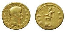 Ancient Coins - Titus. As Caesar, AD 69-79. GOLD Aureus R/ NEPTUNE