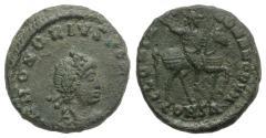 Ancient Coins - Honorius (395-423). Æ 13mm