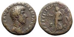 Ancient Coins - Lucius Verus (161-169). Æ Dupondius - R/ Victory