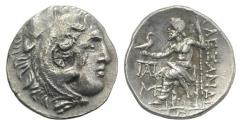 Ancient Coins - IONIA, Magnesia ad Maeandrum. Circa 225-200 BC. AR Drachm. In the name and types of Alexander III. EXTREMELY RARE