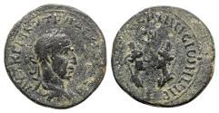 Ancient Coins - Trajan Decius (249-251). Mesopotamia, Rhesaena. Æ