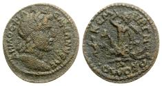 Ancient Coins - Lydia. Philadelphia. Pseudo-autonomous issue, c. AD 215-230. Æ - Extremely Rare and Very interesting reverse type