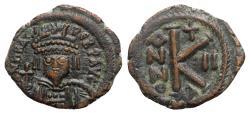 Ancient Coins - Heraclius (610-641). Æ 20 Nummi - Cyzicus, year 2