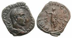 Ancient Coins - Aemilian (AD 253). Æ Sestertius. Rome.  RARE