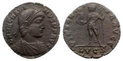 Ancient Coins - Magnus Maximus (383-388). Æ - Lugdunum
