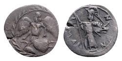 Ancient Coins - Sicily, Kamarina, c. 461-440/35 BC. AR Litra