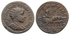 Ancient Coins - Philip II (247-249). Pisidia, Antioch. Æ
