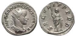 Ancient Coins - Gordian III (238-244). AR Antoninianus - Rome - R/ Securitas