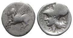Ancient Coins - Akarnania, Argos Amphilochikon, c. 340-300 BC. AR Stater