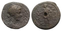 Ancient Coins - Macedon, Thessalonica. Pseudo-autonomous issue, c. AD 138-161. Æ - Tyche / Kabeiros