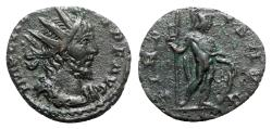 Ancient Coins - Victorinus (269-271). Radiate - Treveri - R/ Virtus