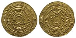 World Coins - Islamic, Fatimids. Al-Mustansir (1036-1094). AV Dinar. al Iskandariya mint (Alexandria), AH 453 (AD 1061/2). EXTREMELY FINE