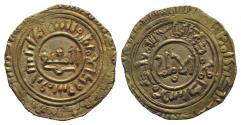 Ancient Coins - Islamic. Atabegs of Damascus, Burid, Abaq (AH 534-549 / AD 1140-1154) AV Dinar  EXTREMELY RARE