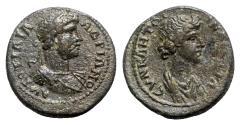 Ancient Coins - Hadrian (117-138). Lydia, Stratonicaea. Æ - R/ Senate