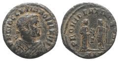 Ancient Coins - Diocletian (Senior Augustus, 305-311/2). Æ Half Follis.  Alexandria, AD 308.