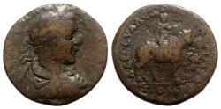 Ancient Coins - Severus Alexander (222-235). Pontus, Amasea. Æ - R/ Europa on bull
