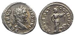 Ancient Coins - Septimius Severus (193-211). AR Denarius - Rome - R/ Africa
