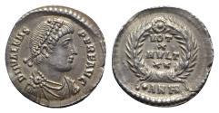 Ancient Coins - Valens (364-378). AR Siliqua - Antioch