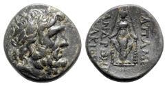 Ancient Coins - Phrygia, Apameia, c. 100-50 BC. Æ - Andronikos and Alkion, magistrates