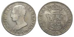 World Coins - Spain, Joseph Napoleon (1808-1814). AR 4 Reales 1810 AI, Madrid