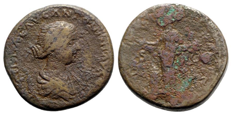 Ancient Coins - Lucilla (Augusta, 164-182). Æ Sestertius - R/ Pietas