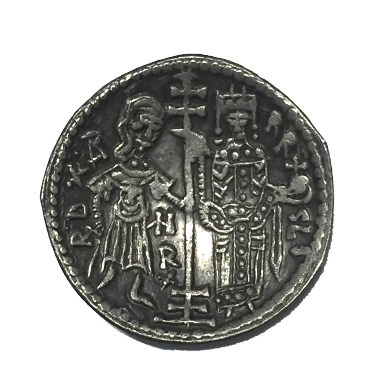 World Coins - ITALY, Sicily. Palermo. Norman Kings. Ruggero II, as King. 1130-1154. AR Ducale RARE