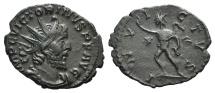 Ancient Coins - Victorinus (269-271). Radiate. Treveri, AD 270.  R/ SOL