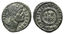 Ancient Coins - Constantine I (307/310-337). Æ Follis. Heraclea, 327-9.