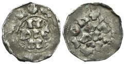 World Coins - Italy, Pavia. Enrico II di Franconia (1046-1056). AR Denaro. H DIC N. R/ PA PIA CI.