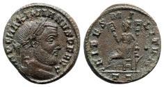 Ancient Coins - Maximianus (286-305). Æ Follis - Ticinum - R/ Fides