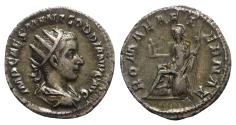 Ancient Coins - Gordian III (238-244). AR Antoninianus. Rome, AD 240.  R/ ROMA