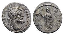 Ancient Coins - Septimius Severus (193-211). AR Denarius - Emesa - R/ Spes