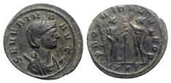 Ancient Coins - Severina (Augusta, 270-275). Antoninianus. Ticinum, 274-5.  R/ FIDES