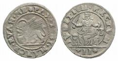 World Coins - ITALY. Venice. Anonymous coinage AR Da 2 Gazzette 1700