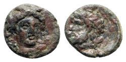 Ancient Coins - Sicily, Gela, c. 315-310 BC. Æ