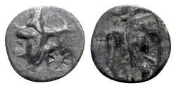 Ancient Coins - Achaemenid Empire, temp. Artaxerxes III to Darios III, c. 350-333 BC. Æ.