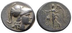 Ancient Coins - Pamphylia, Side, c. 205-100 BC. AR Tetradrachm. R/ NIKE
