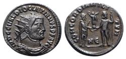 Ancient Coins - Diocletian (284-305). Radiate - Heraclea