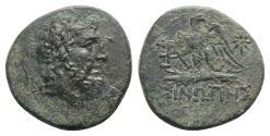 Ancient Coins - Paphlagonia, Sinope, c. 85-65 BC. Æ - Zeus / Eagle