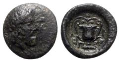 Ancient Coins - Islands of Thessaly, Peparethos, 4th-3rd centuries BC. Æ Chalkous
