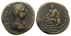 Ancient Coins - Elagabalus (218-222). Moesia Inferior, Nicopolis ad Istrum. Æ - Novius Rufus, legatus consularis
