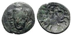 Ancient Coins - Thessaly, Pharsalos, 3rd century BC. Æ Trichalkon